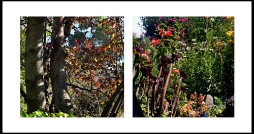 garden diptych